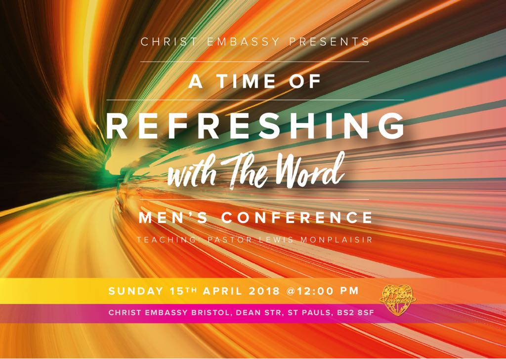 A time of Refreshing with the word
